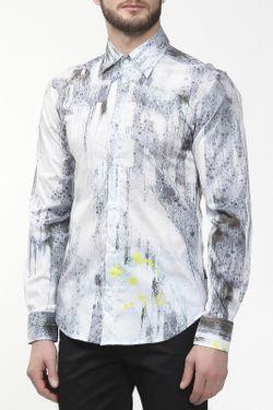 Рубашка Just Cavalli                                                                                                              голубой цвет