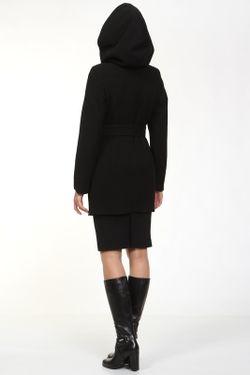 Пальто КОРУ-СТИЛЬ                                                                                                              черный цвет