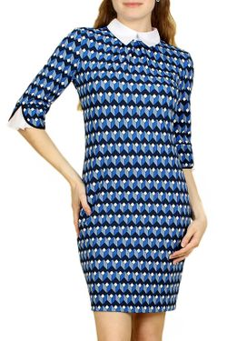 Платье Lamiavita                                                                                                              синий цвет