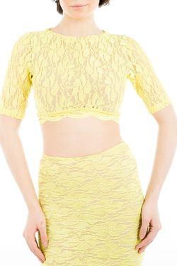 Топ Tsurpal                                                                                                              желтый цвет