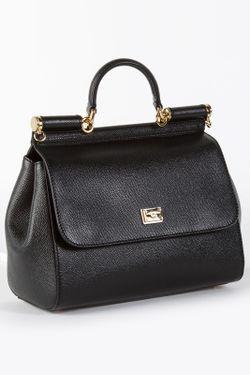 Сумка Dolce & Gabbana                                                                                                              черный цвет