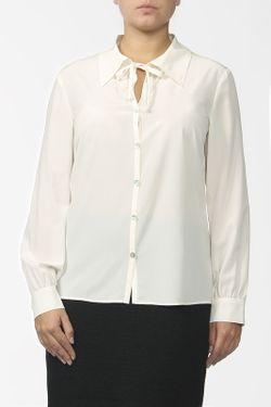 Блуза St. John                                                                                                              белый цвет