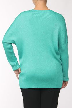 Пуловер Вязаный St. John                                                                                                              зелёный цвет