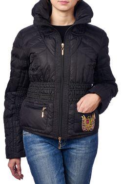 Куртка Roccobarocco                                                                                                              чёрный цвет
