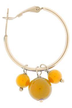 Серьги Happy Garnets                                                                                                              желтый цвет