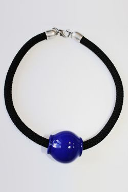 Колье Sima Divetro                                                                                                              синий цвет