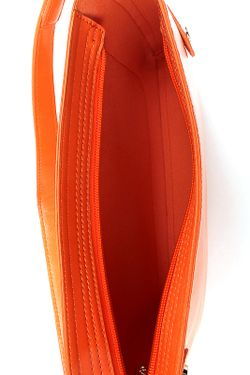 Сумка Velvet                                                                                                              оранжевый цвет