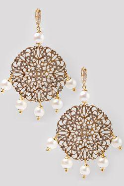 Серьги Patricia Bruni                                                                                                              золотой цвет