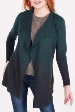 Кардиган ODEKS-STYLE                                                                                                              зелёный цвет