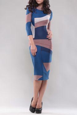 Платье Laura Bettini                                                                                                              синий цвет