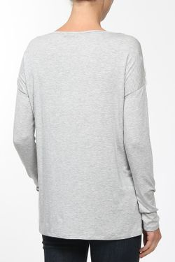 Блуза Rachel Zoe                                                                                                              серый цвет