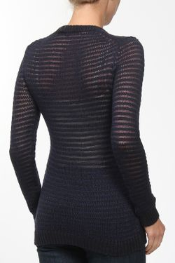 Пуловер Theory                                                                                                              синий цвет