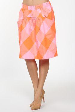 Юбка Джерси Marc by Marc Jacobs                                                                                                              оранжевый цвет