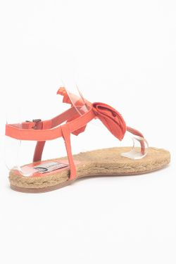 Сандалии Lanvin                                                                                                              оранжевый цвет