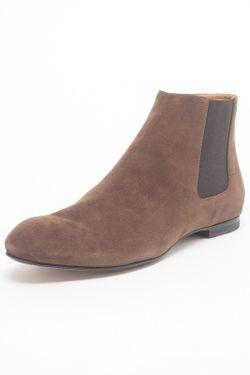 Ботинки Jil Sander                                                                                                              коричневый цвет