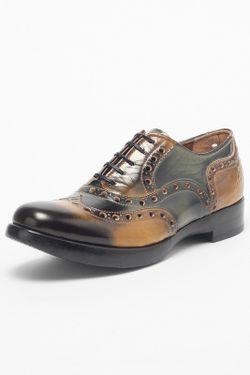 Ботинки Rocco P.                                                                                                              зелёный цвет