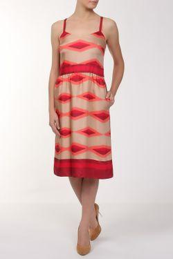 Платье Marc by Marc Jacobs                                                                                                              красный цвет