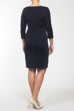 Платье St. John                                                                                                              синий цвет