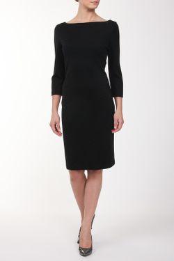 Платье St. John                                                                                                              черный цвет