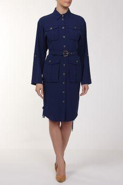 Платье Ремень Emilio Pucci                                                                                                              синий цвет