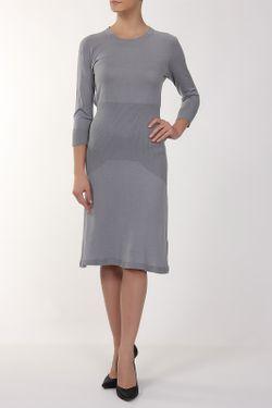 Платье Вязаное John Smedley                                                                                                              серый цвет