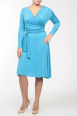 Платье Джерси Von Vonni                                                                                                              голубой цвет