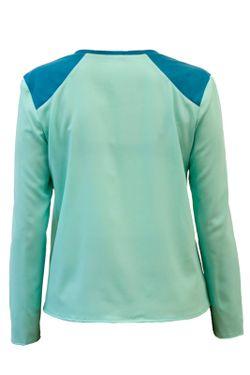 Блуза BERTEN                                                                                                              голубой цвет