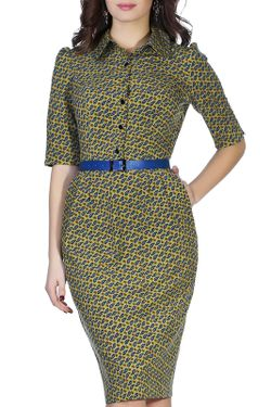 Платье Olivegrey                                                                                                              синий цвет