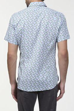 Рубашка Love Moschino                                                                                                              голубой цвет