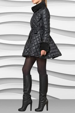 Пуховик Conso                                                                                                              черный цвет