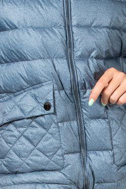 Пуховик Conso                                                                                                              синий цвет