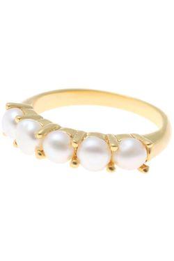 Кольцо NINA FORD                                                                                                              белый цвет