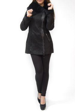 Дубленка Dipol                                                                                                              чёрный цвет