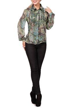 Блуза Rosso-Style                                                                                                              зелёный цвет