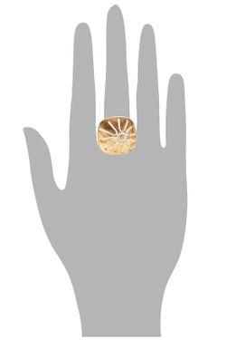 Кольцо Maska                                                                                                              золотой цвет