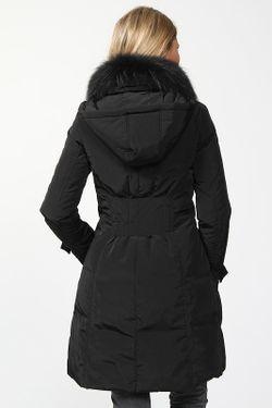 Пальто Пуховое La Reine Blanche                                                                                                              чёрный цвет