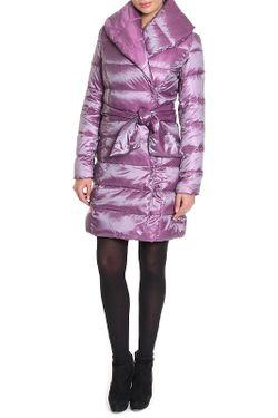Пальто Пуховое La Reine Blanche                                                                                                              фиолетовый цвет