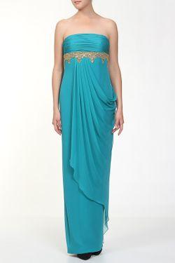 Платье Вечернее Marchesa Notte                                                                                                              голубой цвет