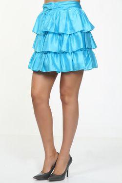 Юбка Ralph Lauren                                                                                                              голубой цвет