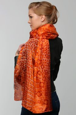 Палантин Gherardini                                                                                                              оранжевый цвет