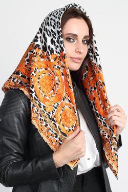 Платок Versace                                                                                                              оранжевый цвет