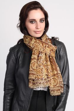 Палантин Versace                                                                                                              коричневый цвет