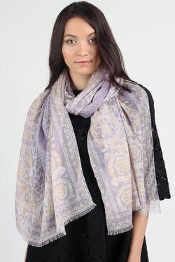 Шарф Versace                                                                                                              фиолетовый цвет
