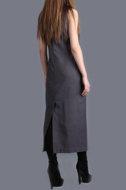 Платье ЭНСО                                                                                                              серый цвет