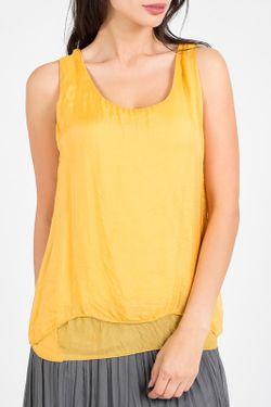 Блуза Amado Barcelona                                                                                                              желтый цвет