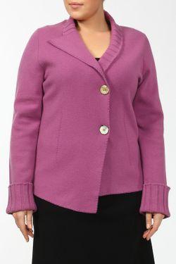 Жакет Bertolo                                                                                                              фиолетовый цвет
