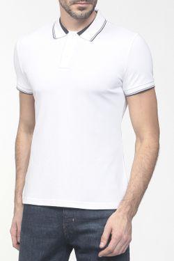 Поло ARMANI JEANS                                                                                                              белый цвет