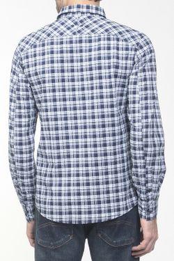Рубашка ARMANI JEANS                                                                                                              синий цвет