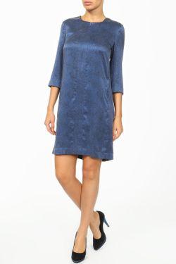 Платье ARMANI JEANS                                                                                                              синий цвет