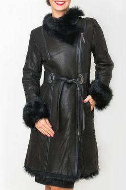 Дубленка Mondial                                                                                                              черный цвет